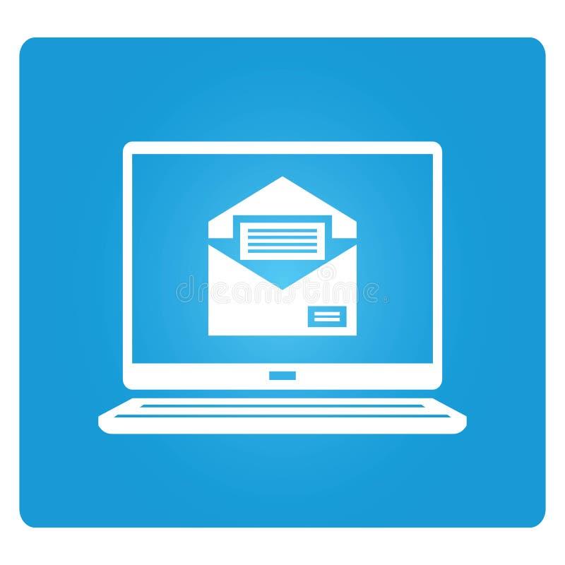 Email illustration stock