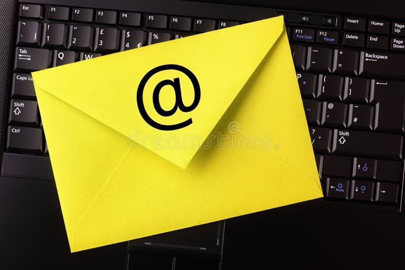 Email zdjęcia royalty free