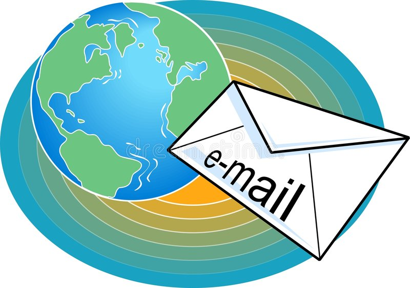 Email stock illustration