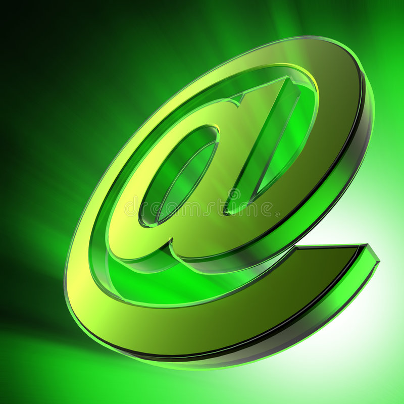 Email illustration de vecteur