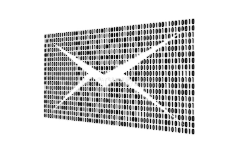 Email. In the form of figures, can be a background stock illustration