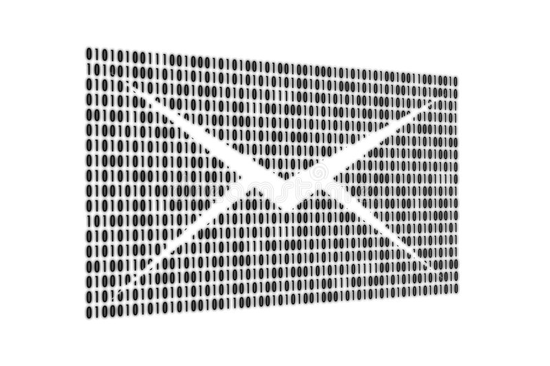Email. In the form of figures, can be a background royalty free illustration