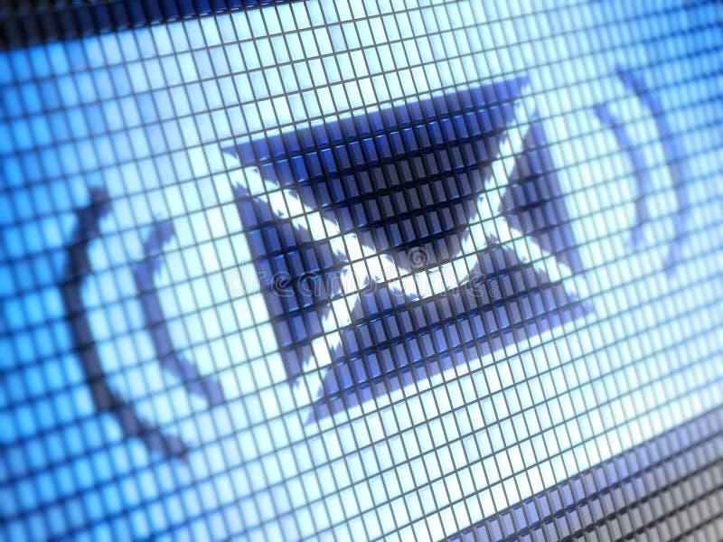 Email imagem de stock