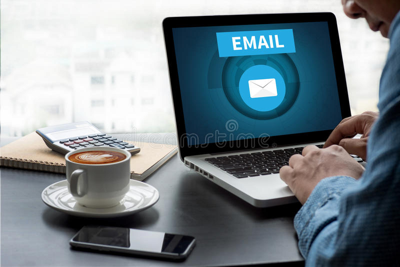 Email royalty illustrazione gratis