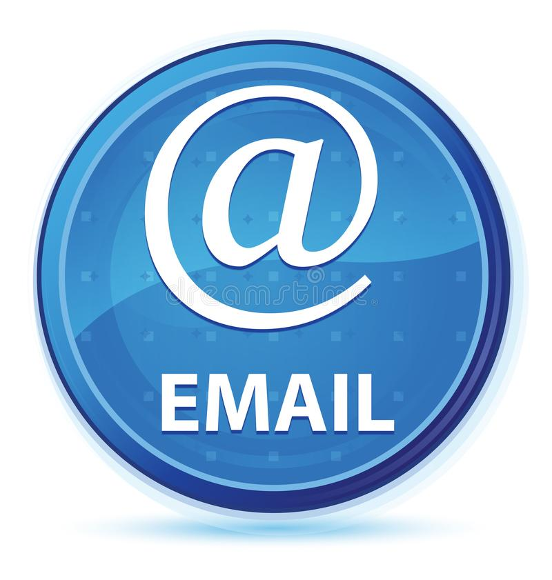 Email (address icon) midnight blue prime round button stock illustration