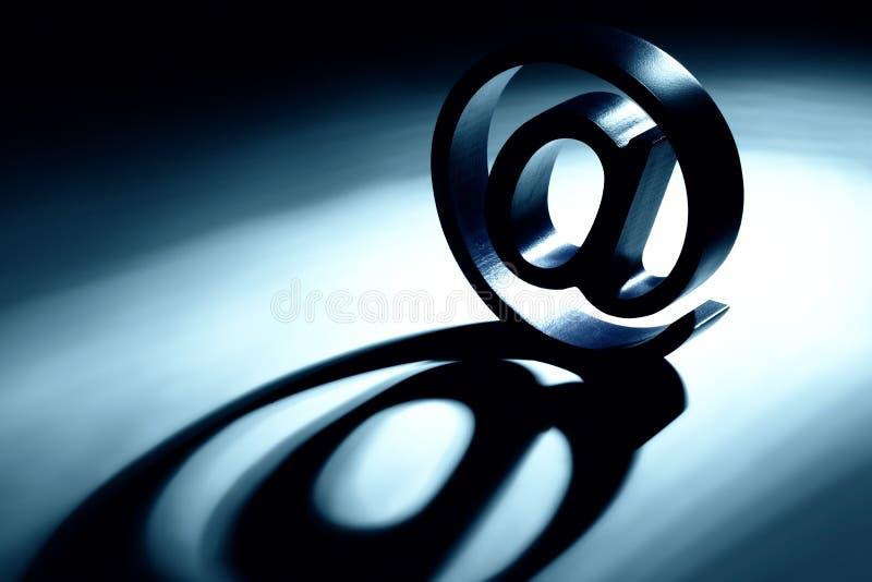 Email aliás imagem de stock