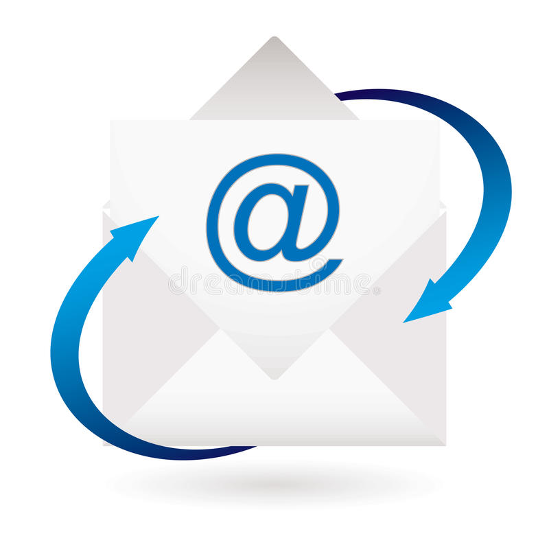 Download Email Arrow Envelope Royalty Free Stock Photos - Image: 14336738