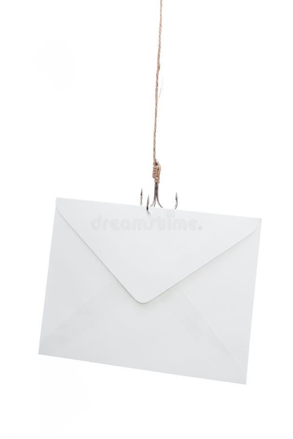 Email che phishing immagine stock libera da diritti