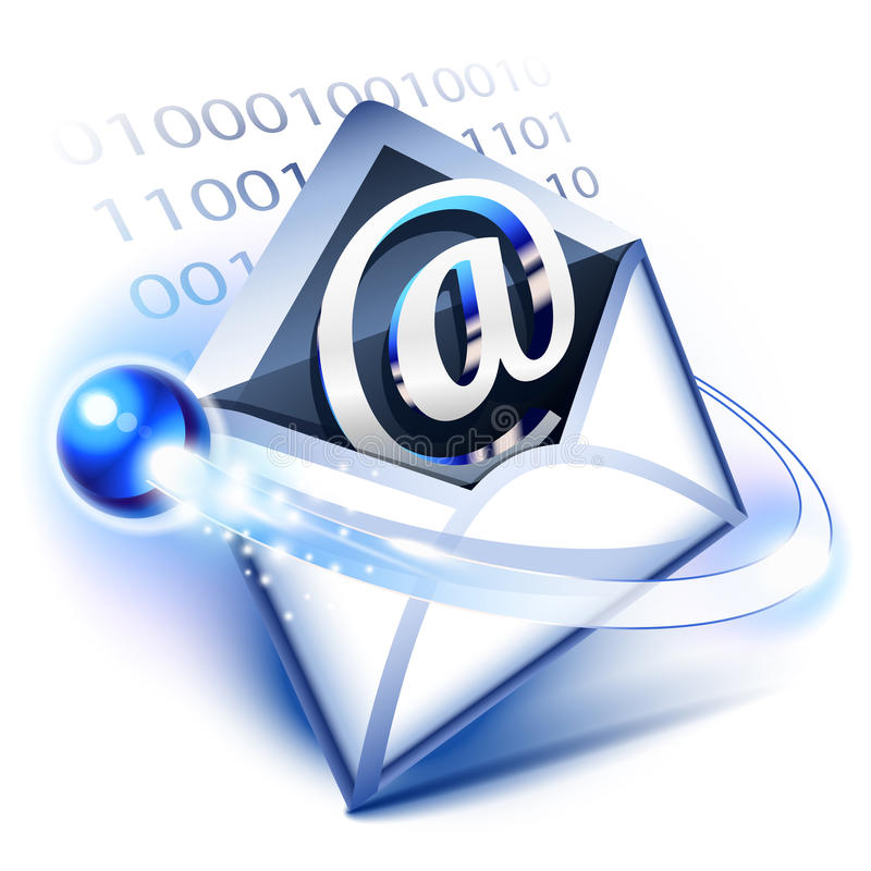 Email. Concept of digital correspondence
