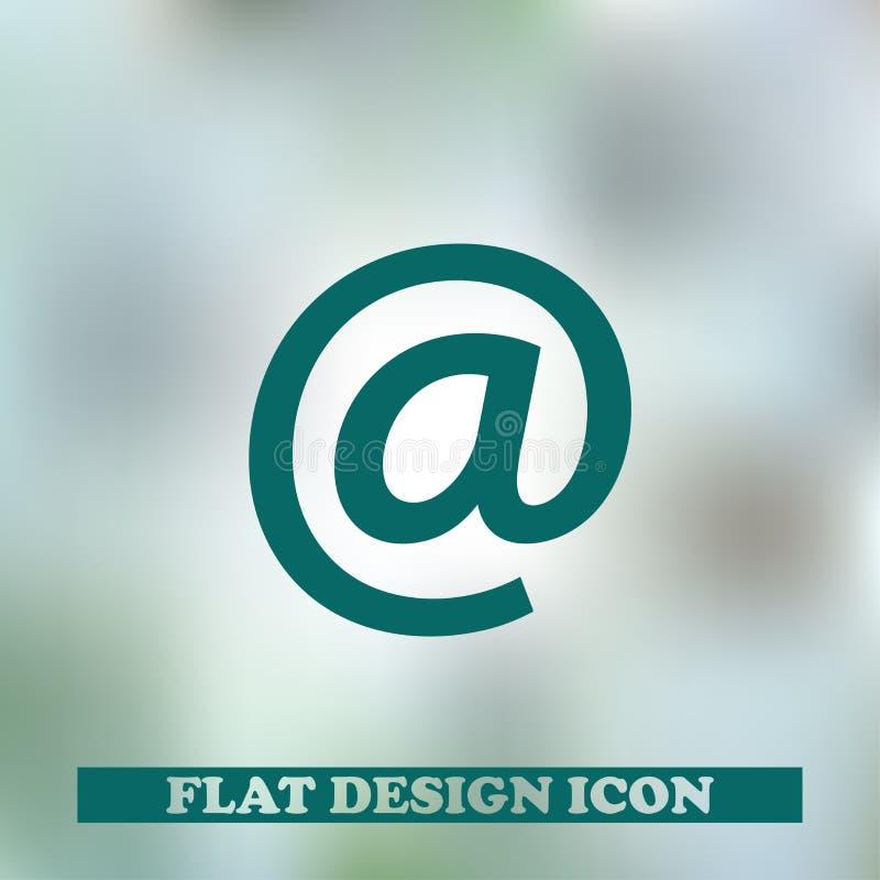 Email czarna ikona z technologii tłem fotografia stock