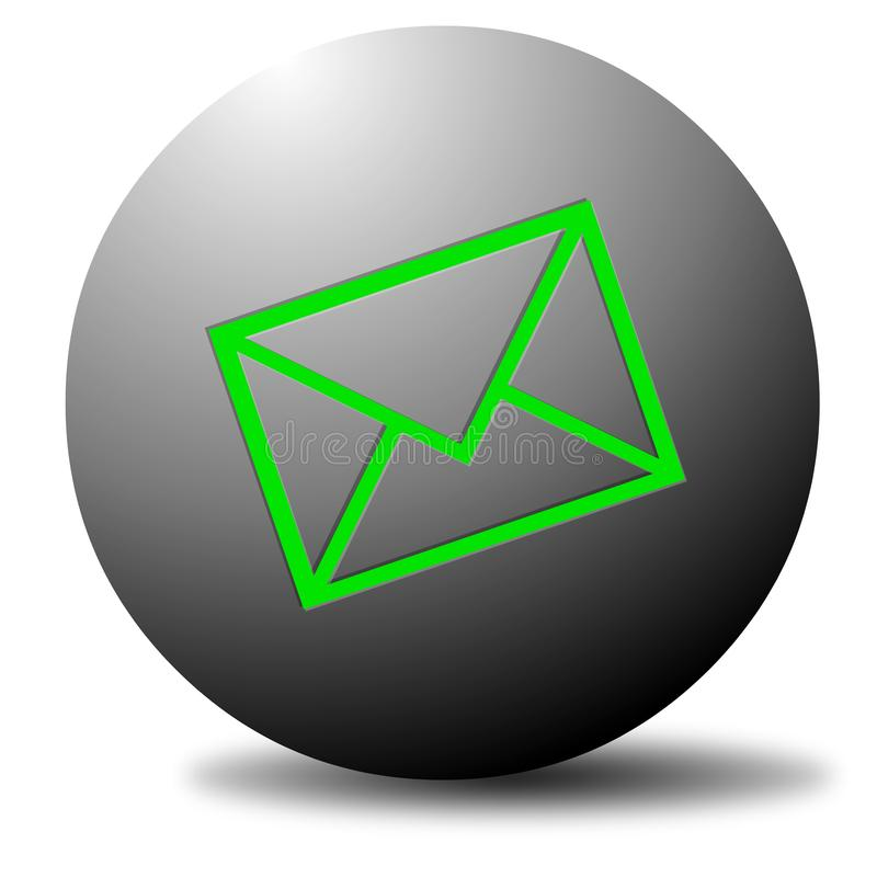 Email Dot royalty free stock photo