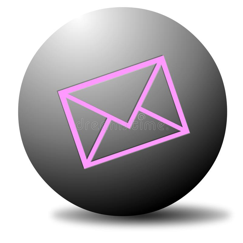 Email Dot stock photography