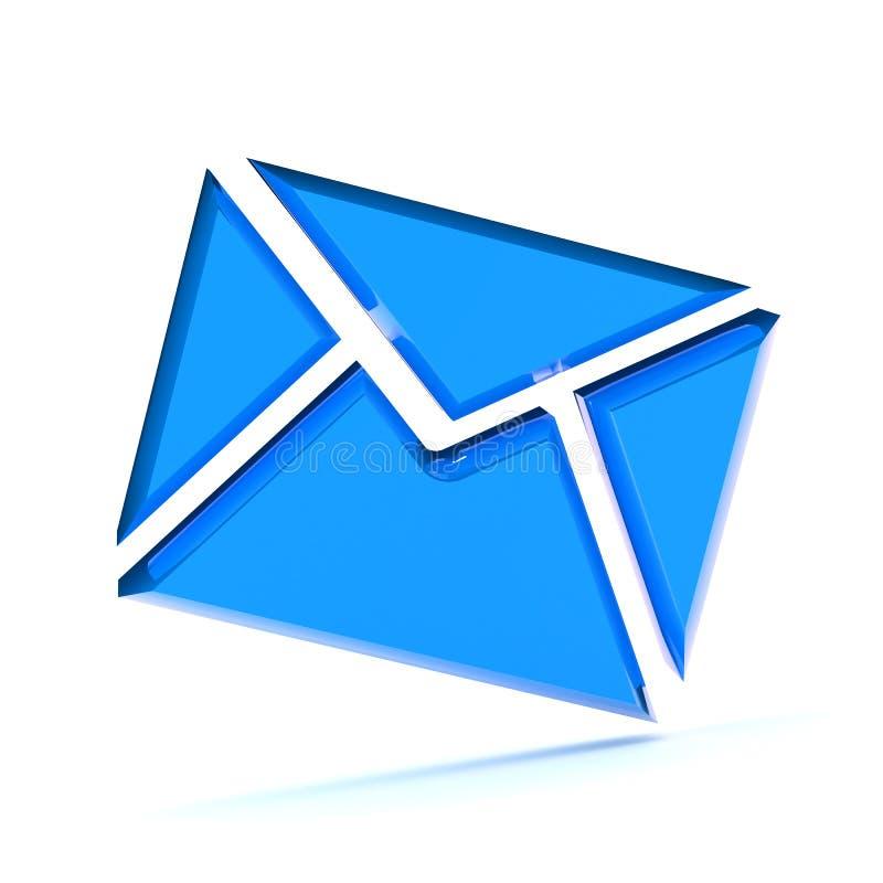 Email Envelope Illustration stock image