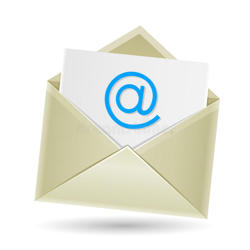 Download Email envelope stock vector. Illustration of business - 36167175