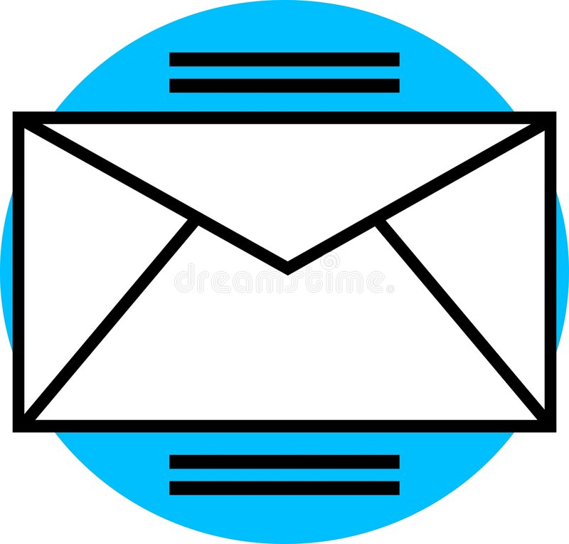 Download Email Graphic stock vector. Image of communications, envelopes - 31597