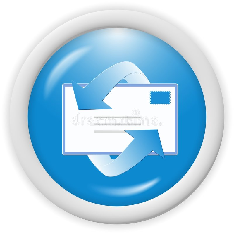Email icon stock illustration