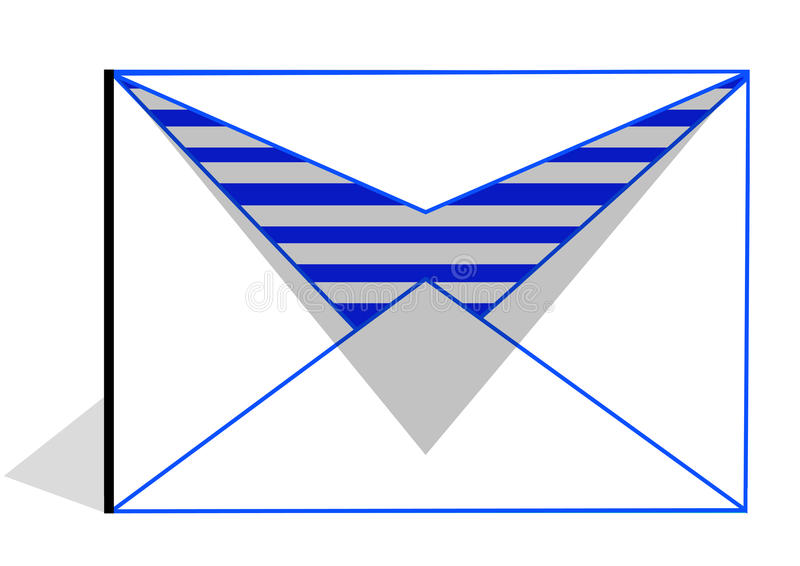 Email-Icon stock illustration
