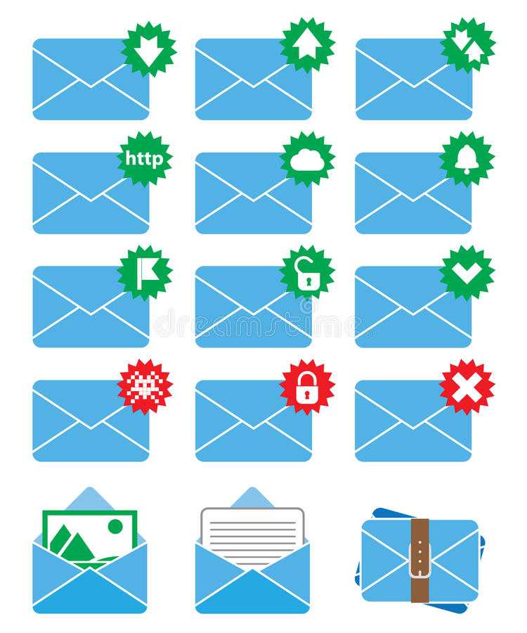 Download Email icon stock vector. Illustration of interface, design - 32154009