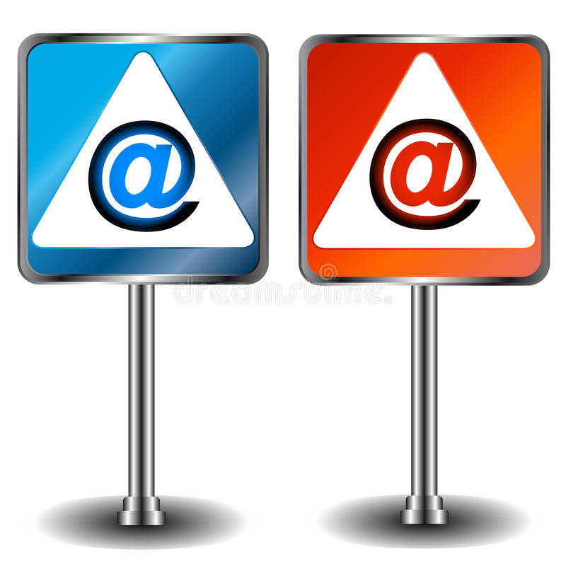Download Email icons stock vector. Image of internet, call, modern - 29357859