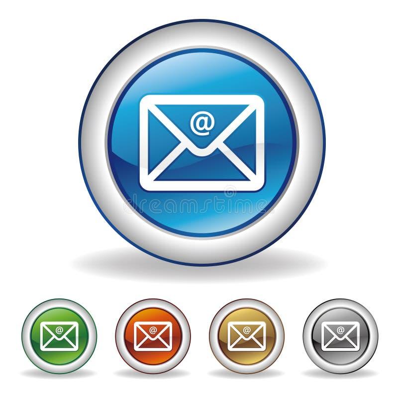 eMail-Ikone vektor abbildung