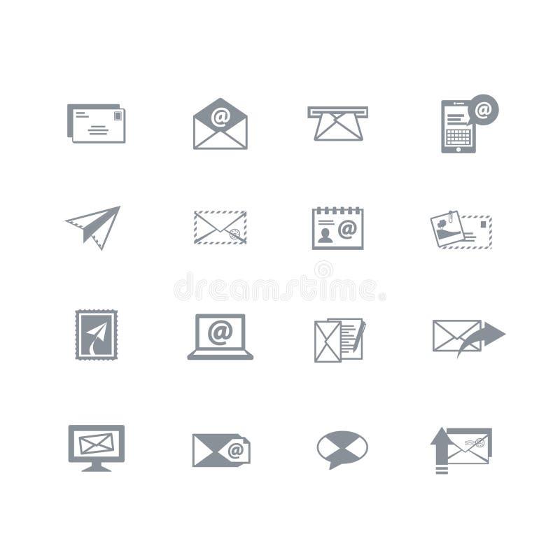 Email ikony ilustracja wektor