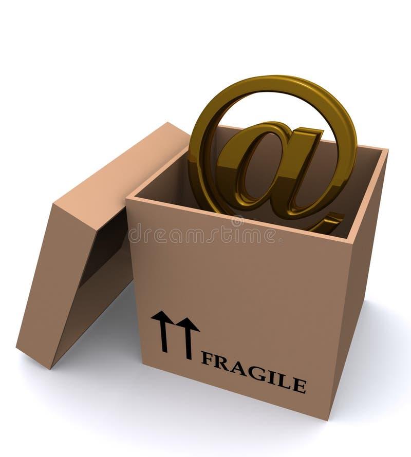 Download EMail im Kasten stock abbildung. Illustration von kommunikationen - 12201159