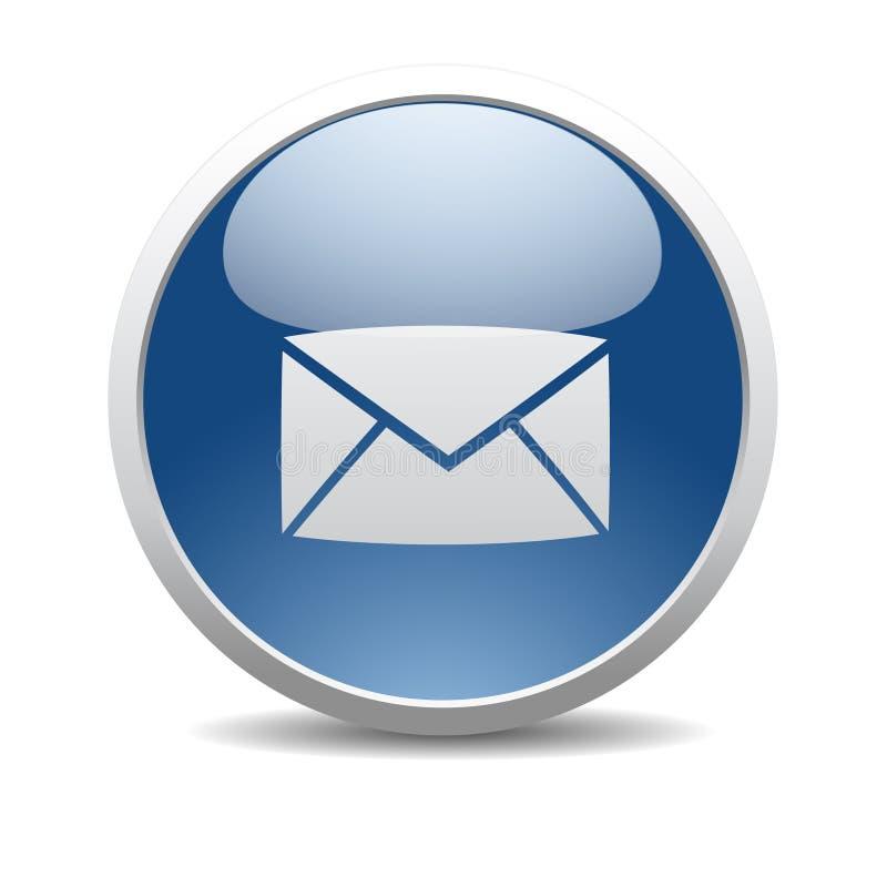 EMail-Internet-Ikone lizenzfreie abbildung