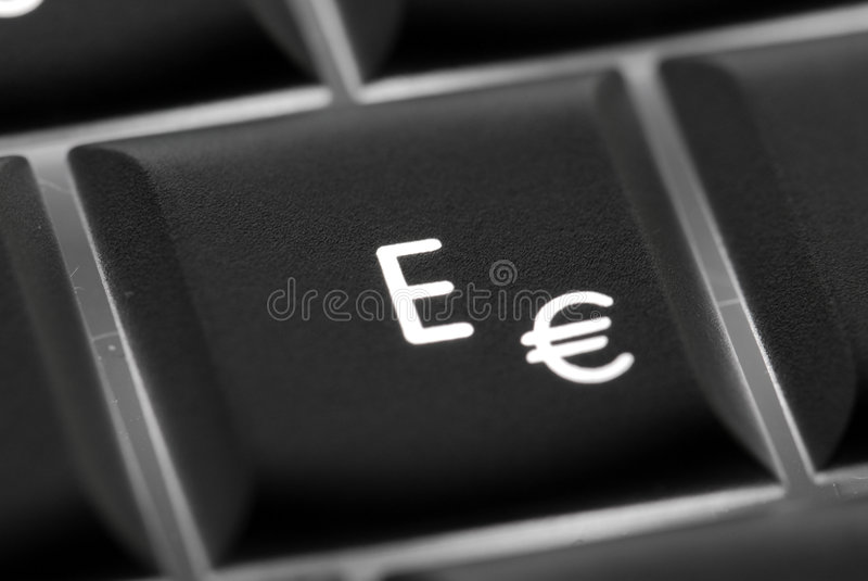 Email key stock photos