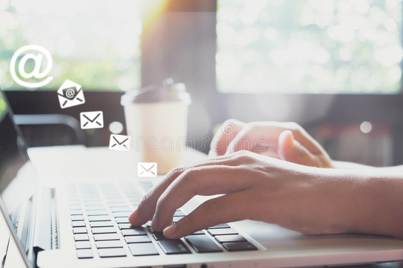 Email marketing concept royalty free stock photos