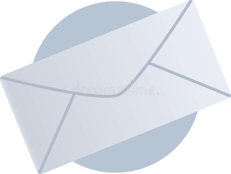 email poczta kopertowa ilustracyjna royalty ilustracja