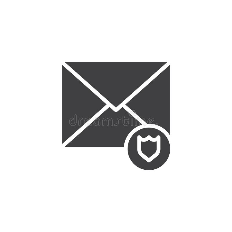 Email protection icon vector vector illustration