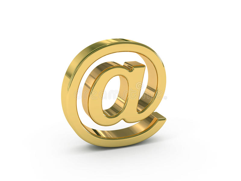 Download Email sign stock illustration. Image of domain, internet - 14458722