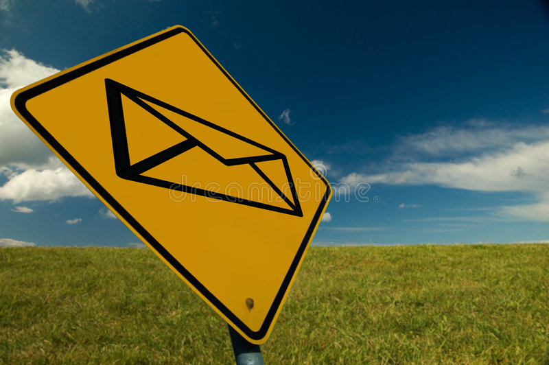 Download Email Sign Stock Photography - Image: 6173482