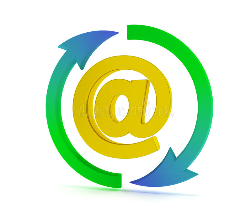 Download Email Sign Royalty Free Stock Photo - Image: 6945525