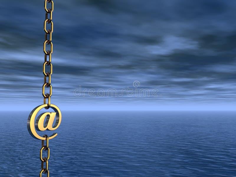 Email symbol royalty free illustration