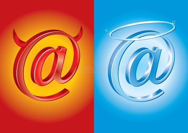 Email symbol - Bad Vs Good