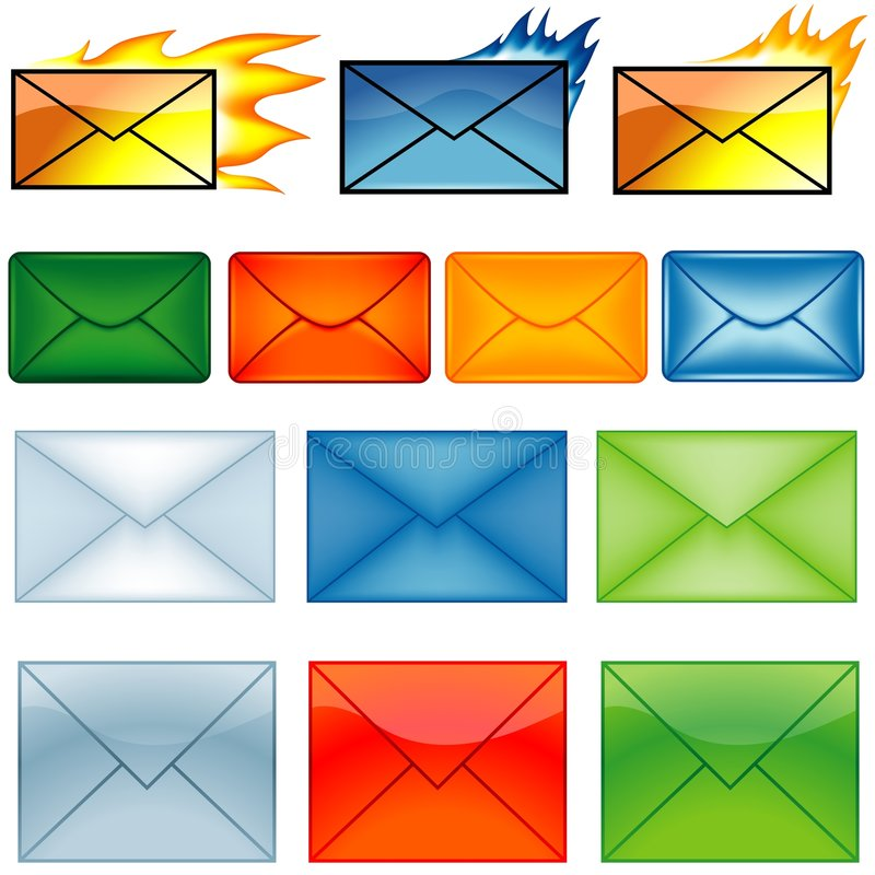 Download Email Symbols Stock Photos - Image: 4222013