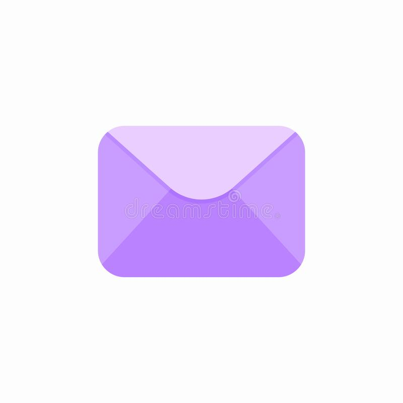 Emaila email odkrywa listowej poczta poczta wysyła email ikonę ilustracja wektor