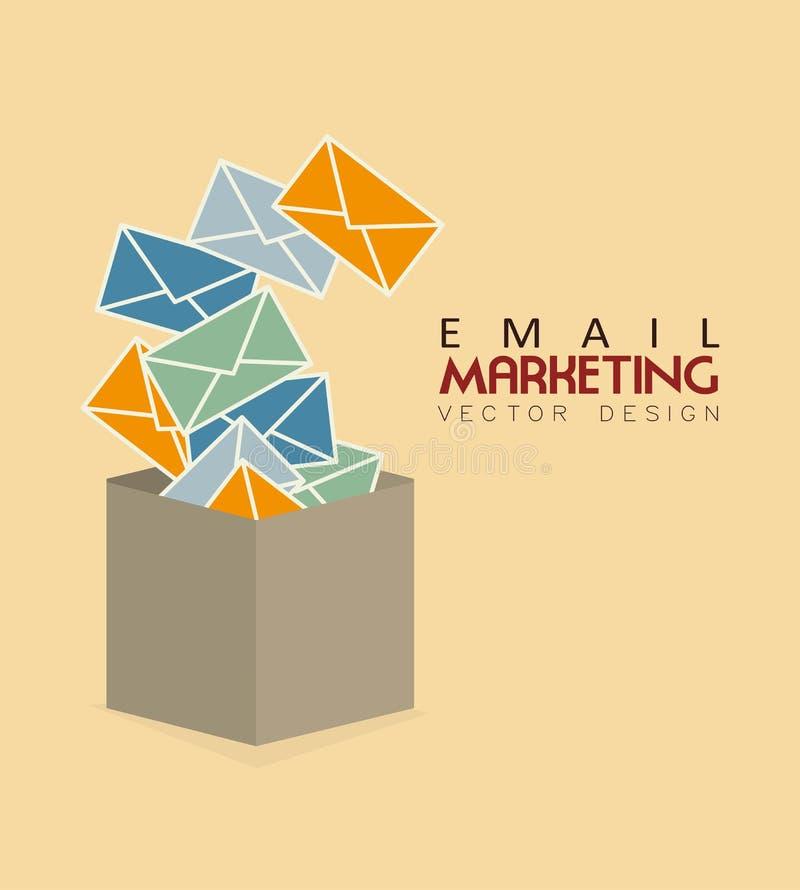 Emaila marketing ilustracji