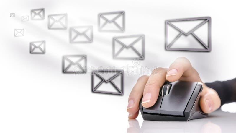 Emailmarknadsföring fotografering för bildbyråer