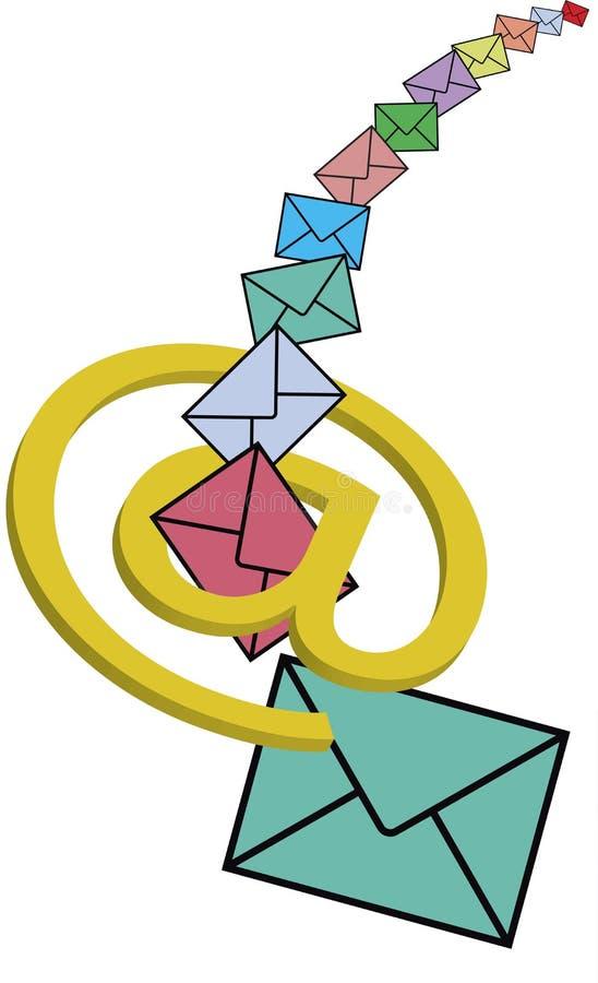 Emails vector illustration