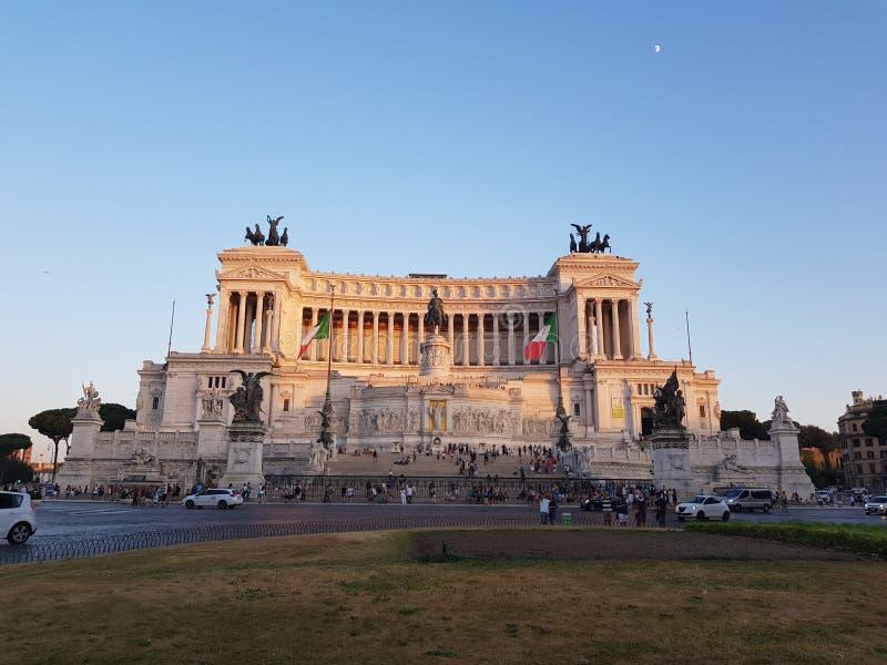 emanuel ii monument Rzymu vittorio zdjęcia royalty free