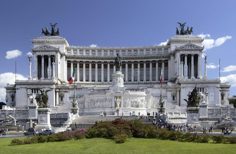 emanuele italy monumentrome vittorio royaltyfria foton