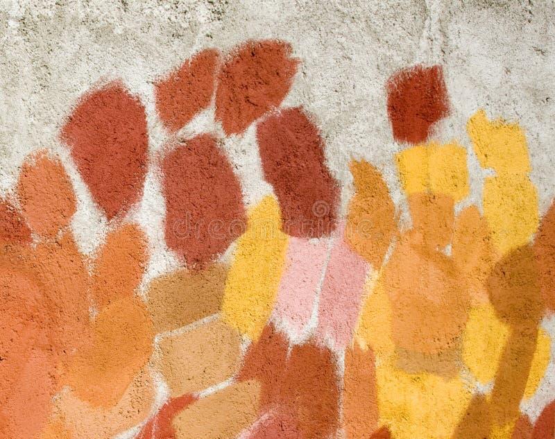 Embadurnamientos abstractos de la pintura fotografía de archivo