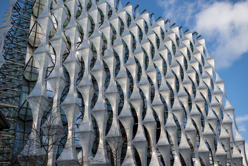 A embaixada do Estados Unidos da América em Londres imagem de stock royalty free
