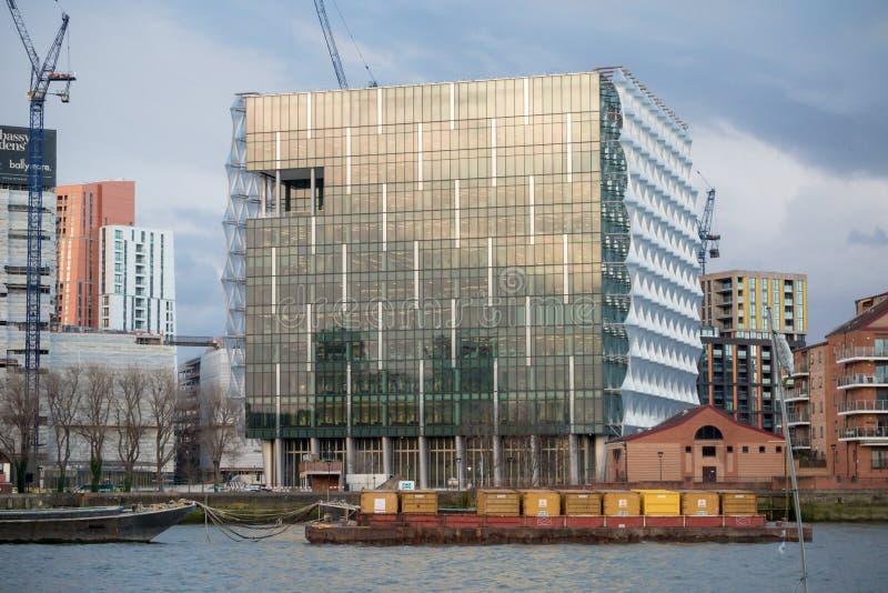 A embaixada do Estados Unidos da América em Londres fotos de stock