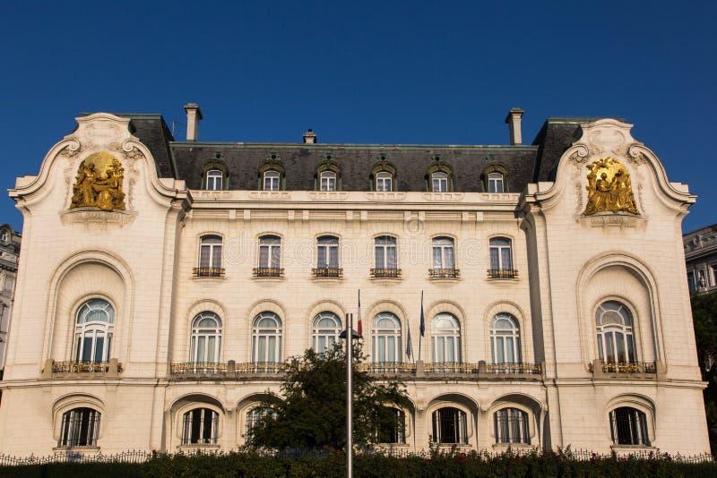 Embaixada francesa em Viena fotos de stock