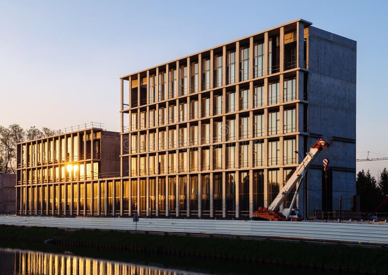 Embaixada turca em Strasbourg imagens de stock