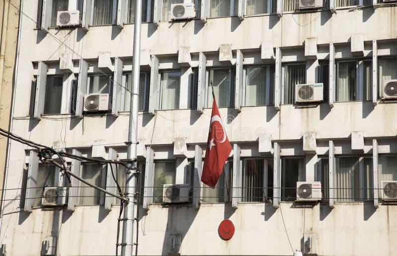 Embaixada turca na cidade de Sófia imagens de stock royalty free