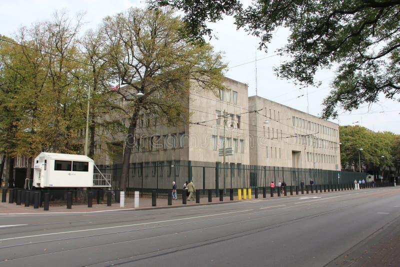 Embajada americana La Haya imagenes de archivo